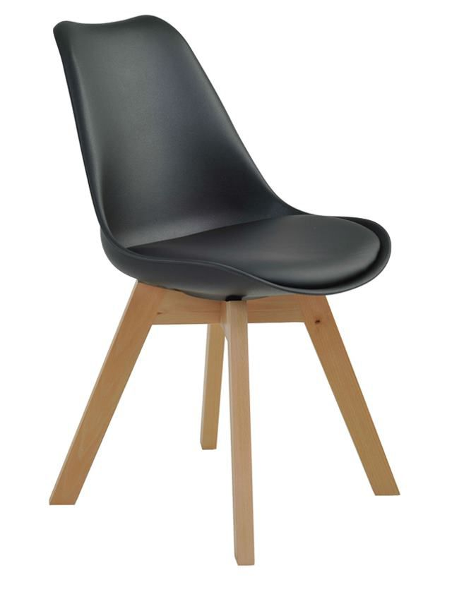Cadeira Dozza PP Base Madeira