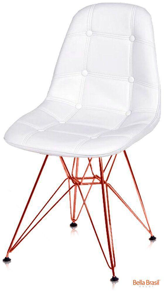 Cadeira Eames DSR Botone