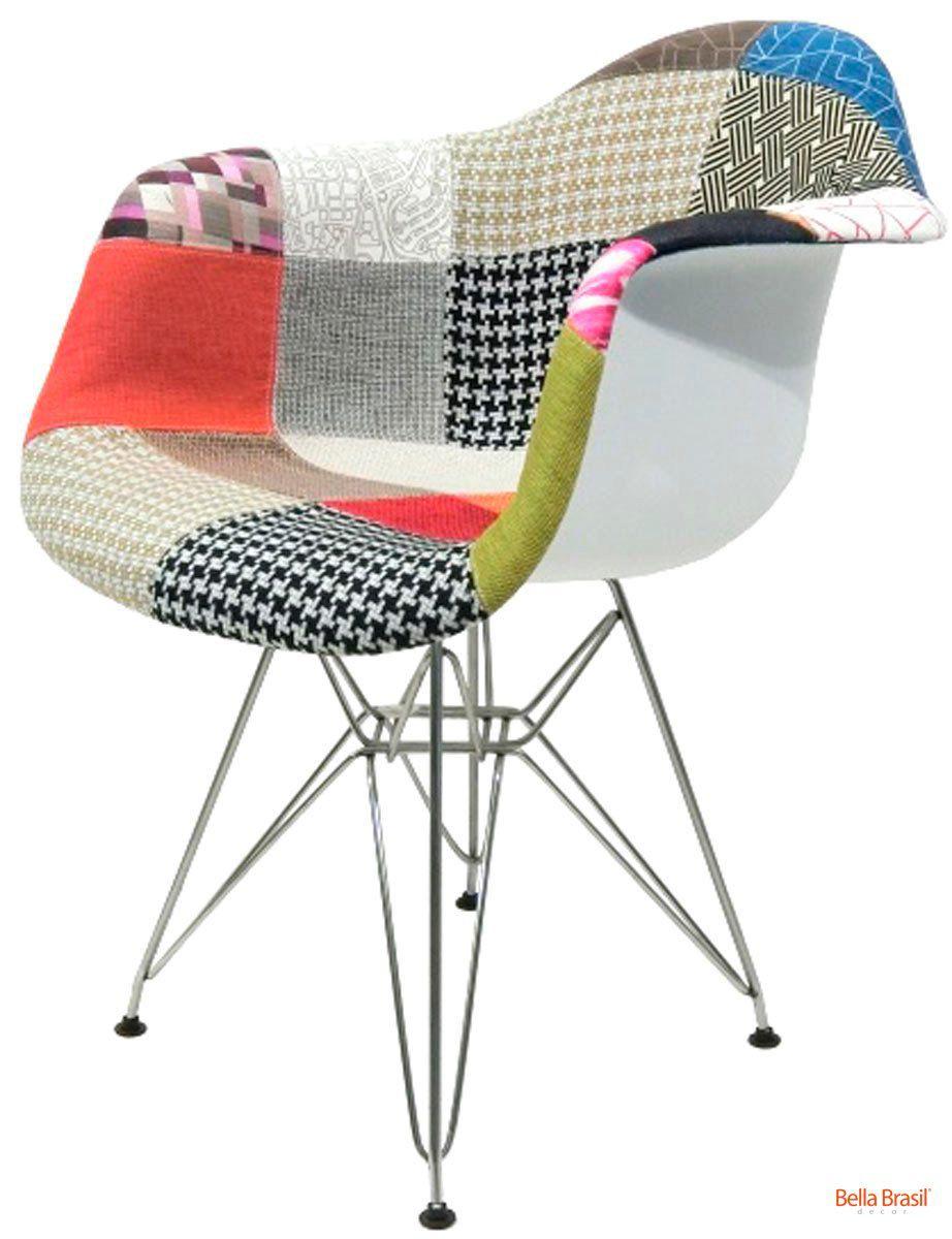 Cadeira Eames Dar Patchwork