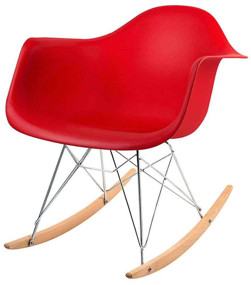 Cadeira Eames DAR Polipropileno Base Balanço
