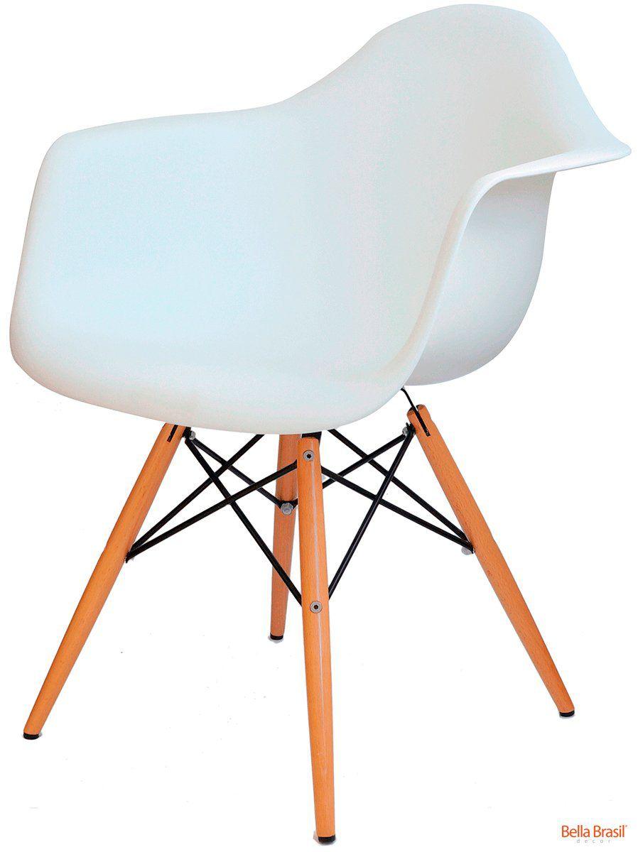 Cadeira Eames DAW Polipropileno