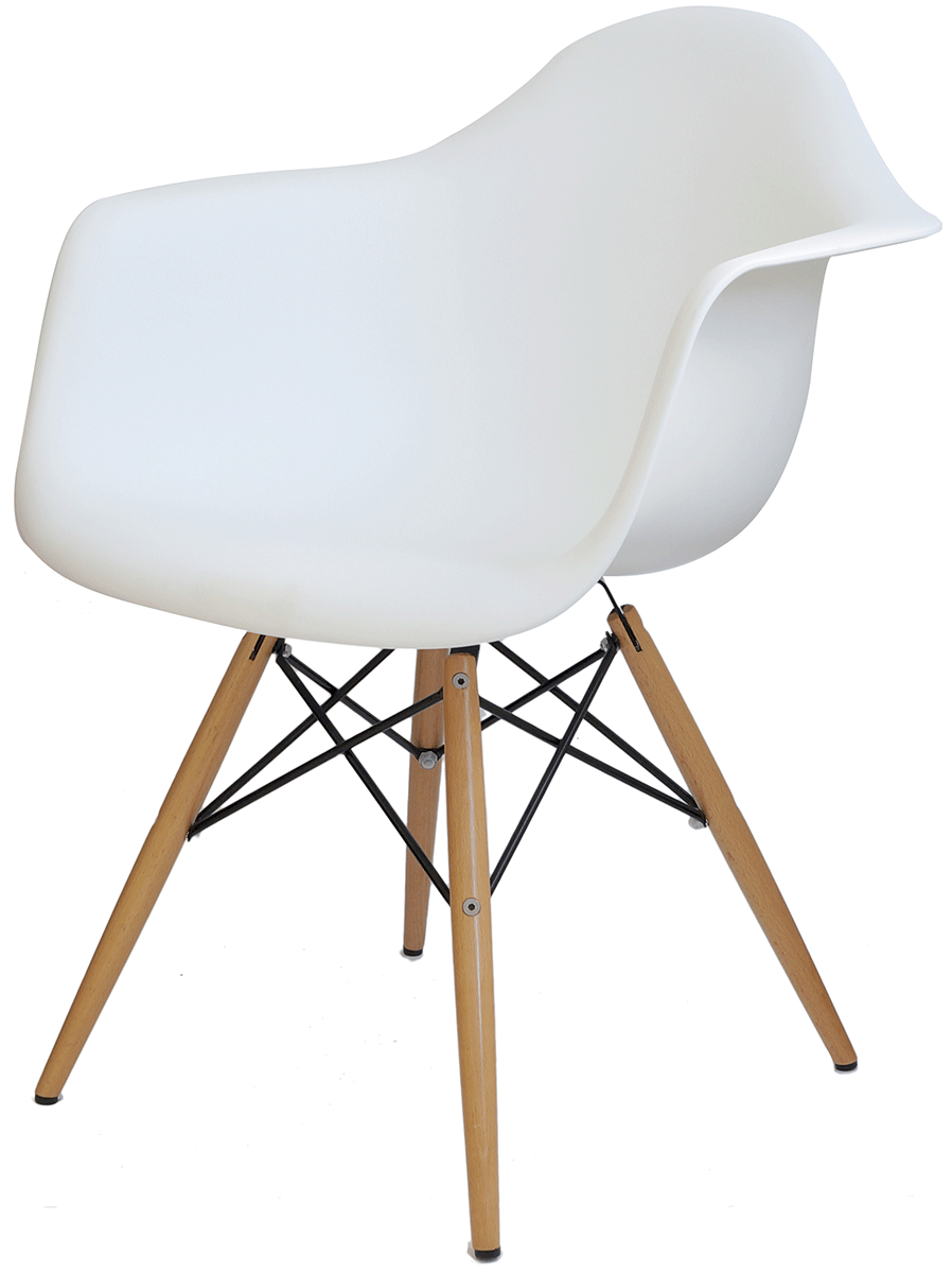 Cadeira Eames Daw wood