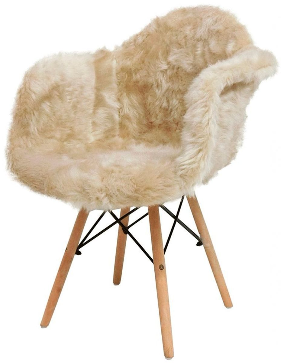 Cadeira Eames Daw wood Glamour