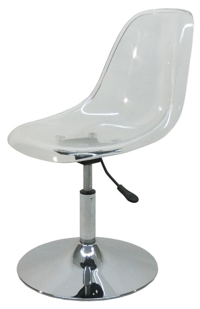 Cadeira Eames Dsr Acrilica com Base Disco