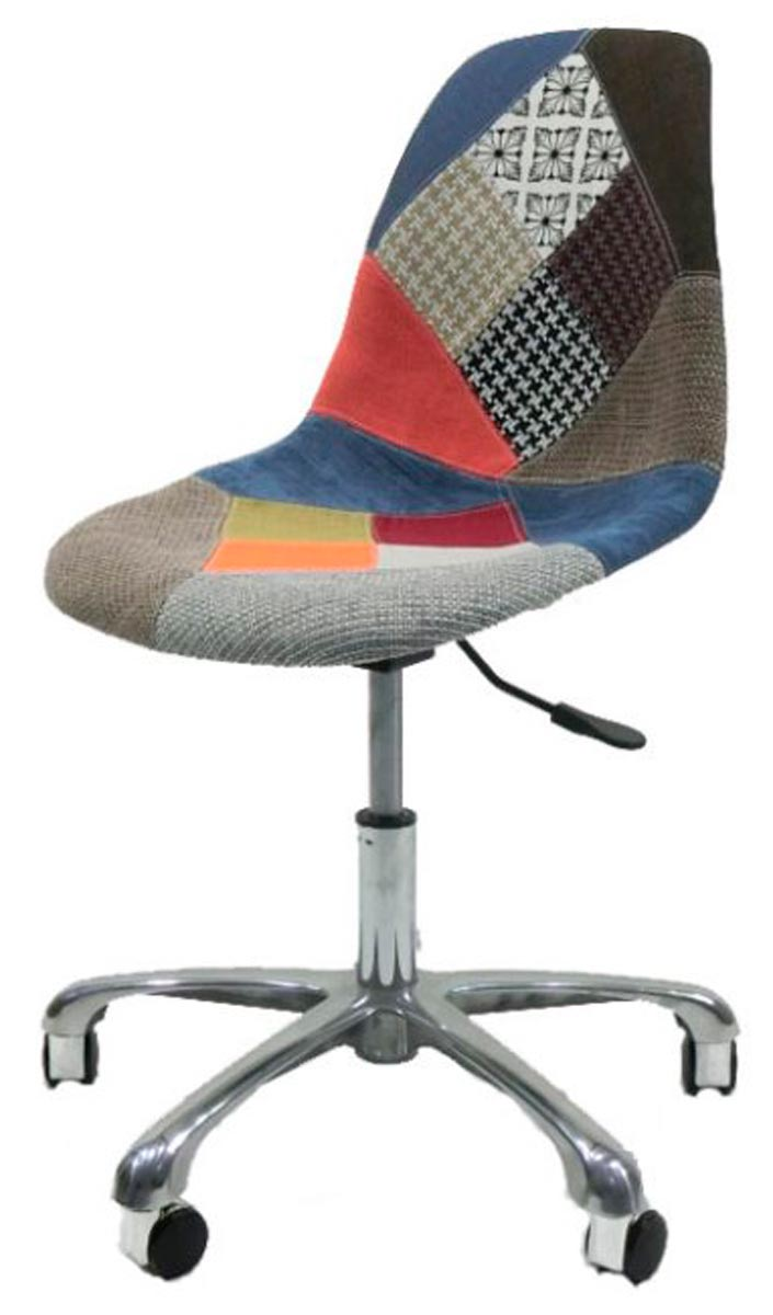 Cadeira Eames Dsr Office Patchwork