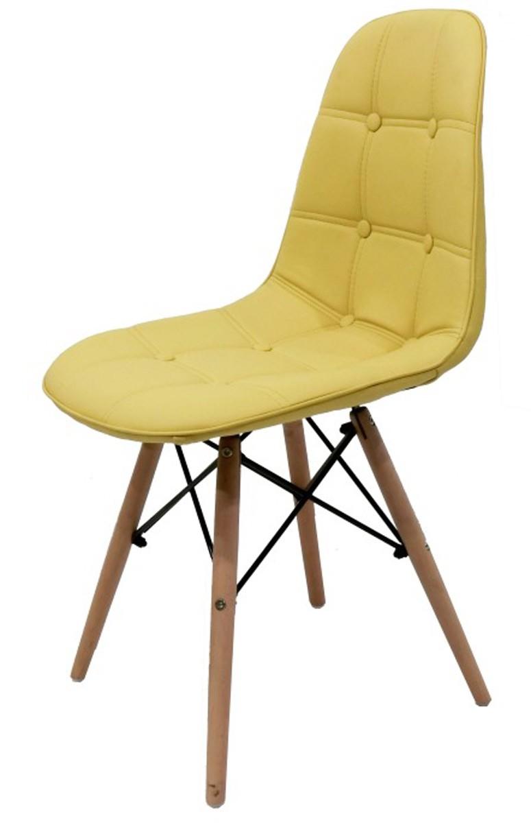 Cadeira Eames DSW   Wood Botonê com Base em Torre Eiffel.
