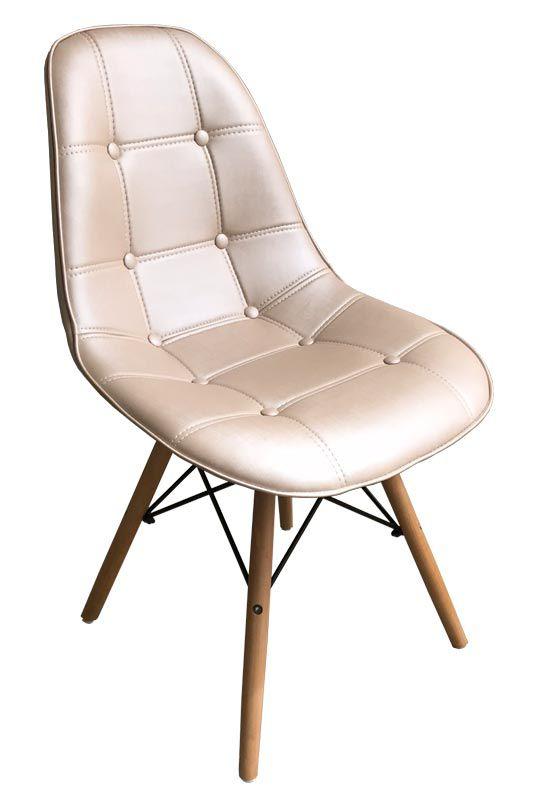 Cadeira Eames DSW Estofada com Assento Facto