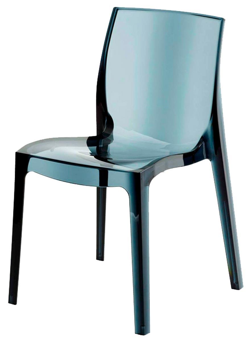 Cadeira Femme Fatale  injetada em policarbonato