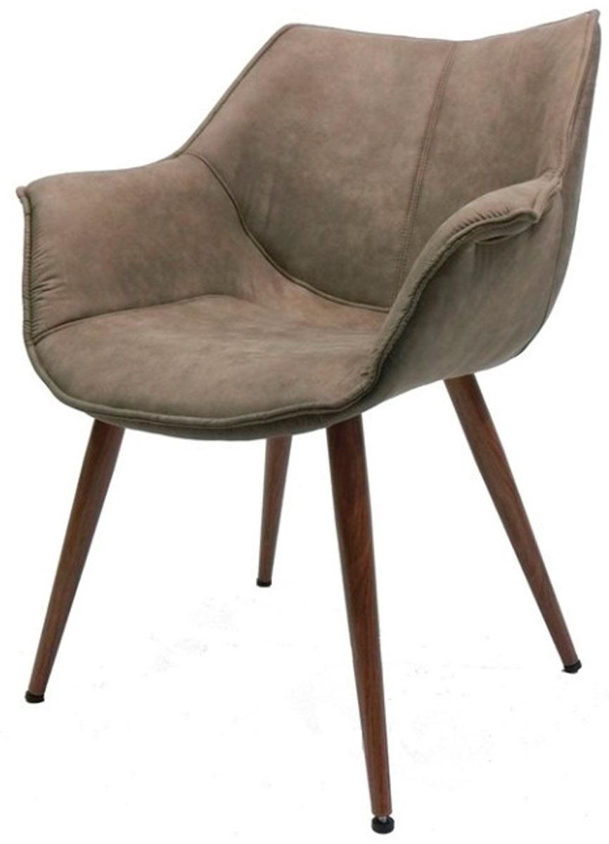 Cadeira Forest em tecido suede