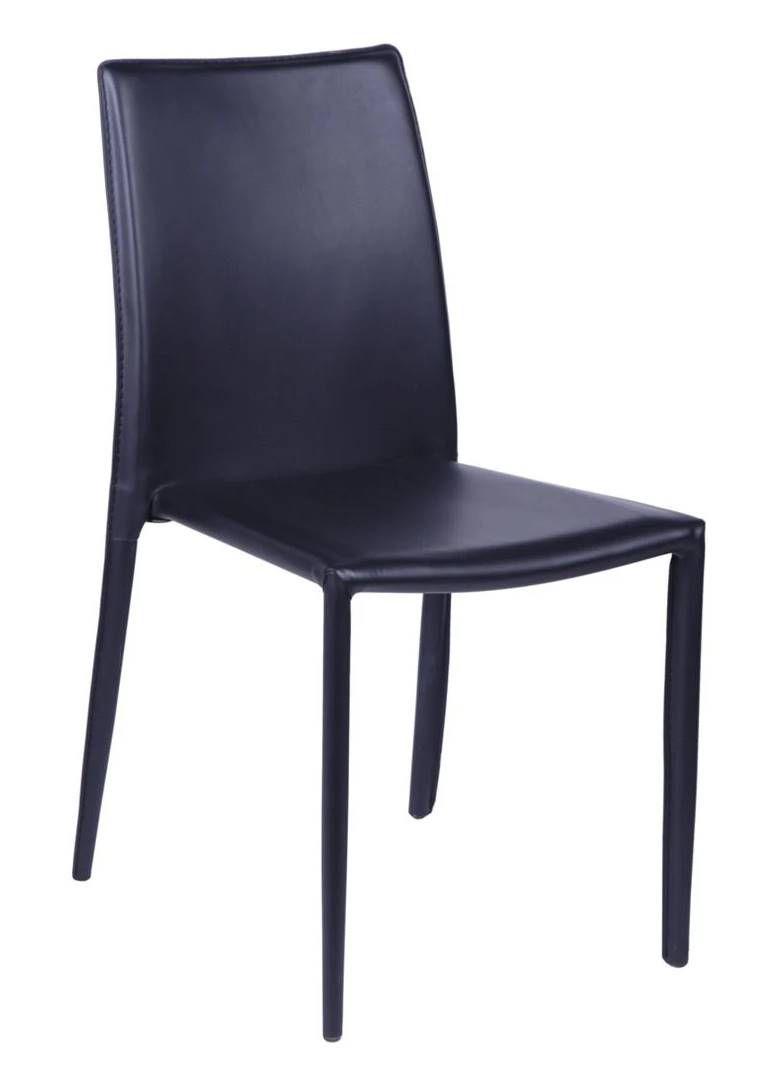 Cadeira Gamay em Corino Preta (Últimas Peças)
