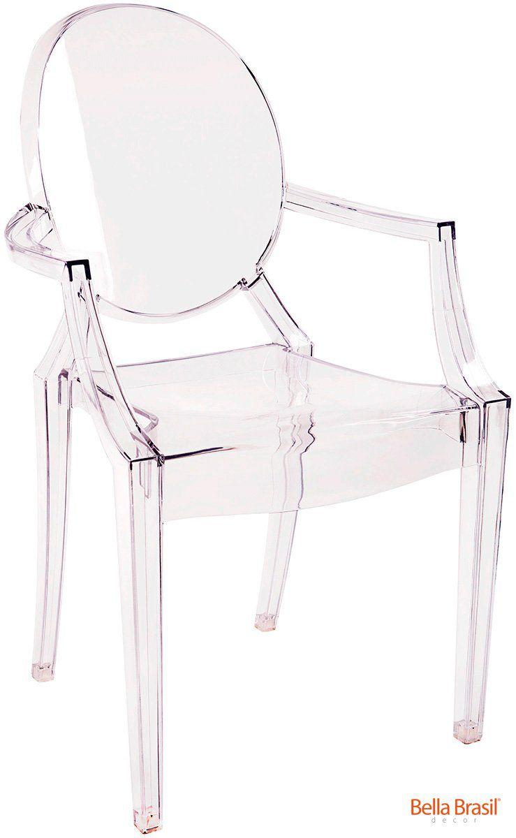 Cadeira Ghost com Braço