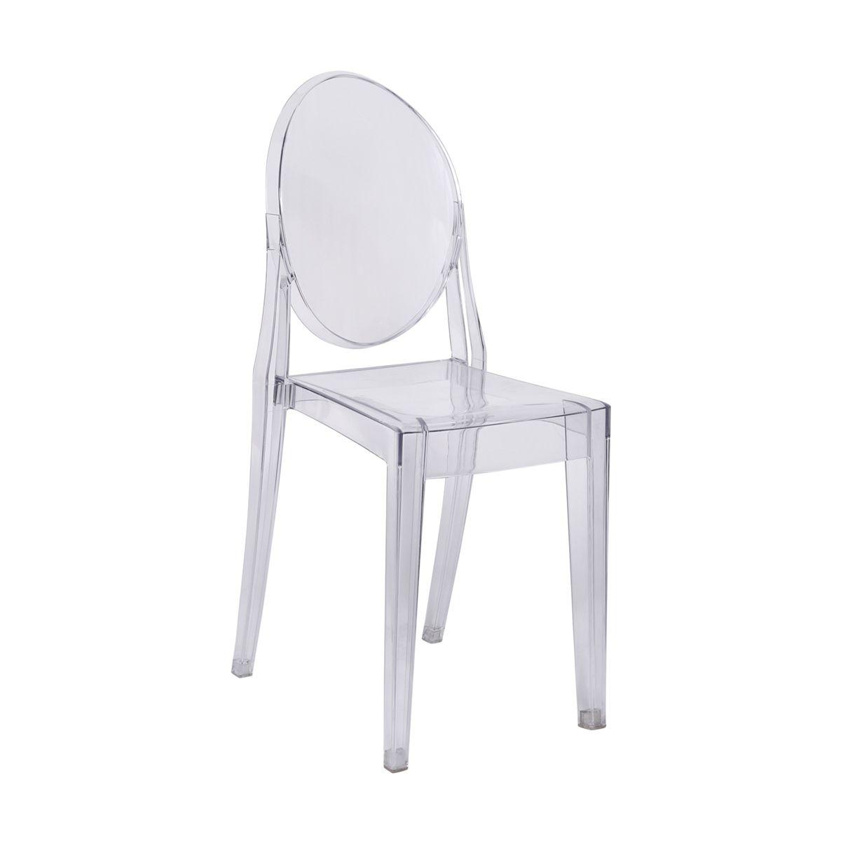 Cadeira Ghost sem Braço em policarbonato
