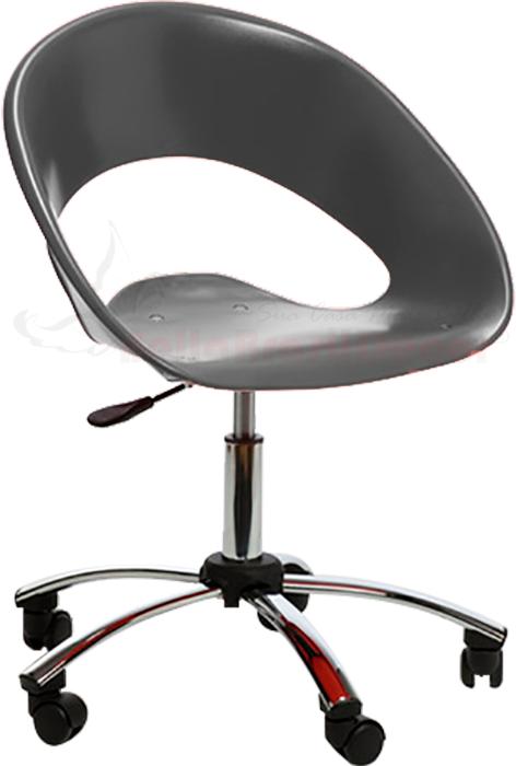 Cadeira Happy em Polipropileno Base Giratória