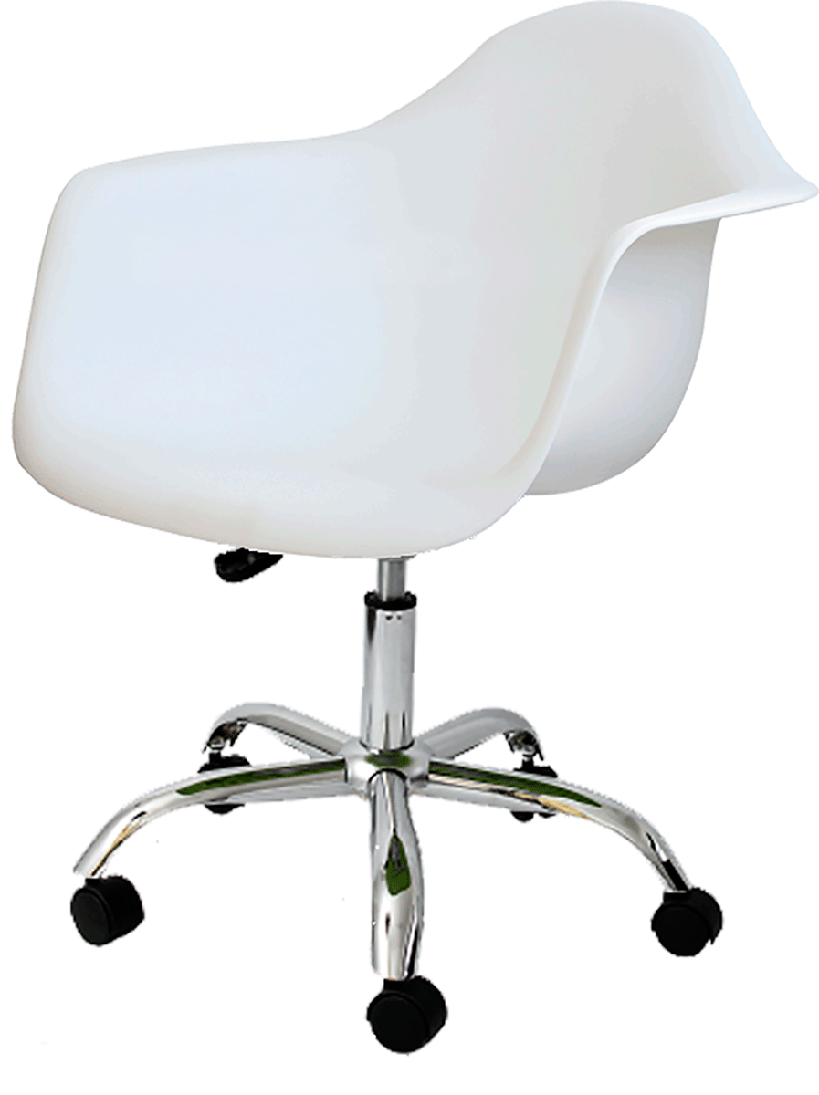 Cadeira Office Eames PACC DAR Base Giratoria