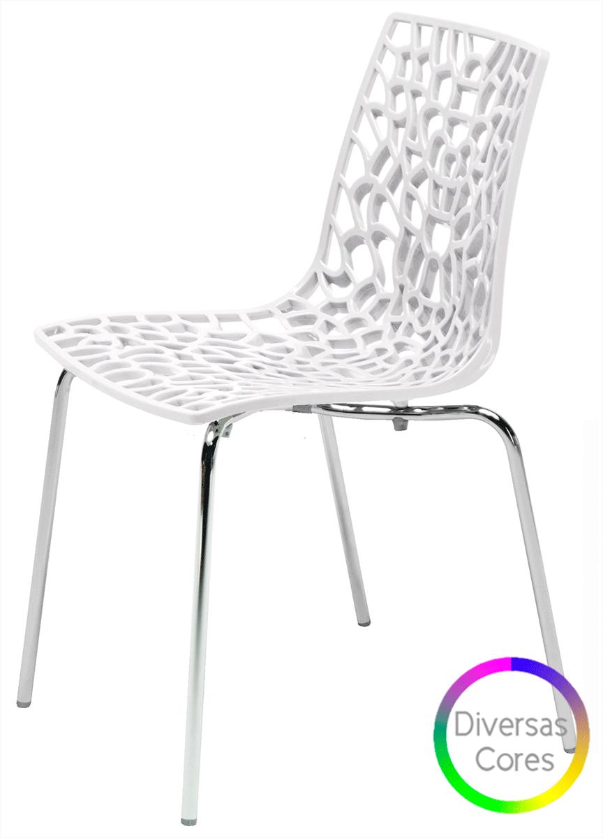 Cadeira Groove em Polipropileno