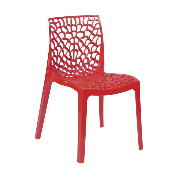Cadeira Gruvyer Polipropileno Highgloop sem Braco