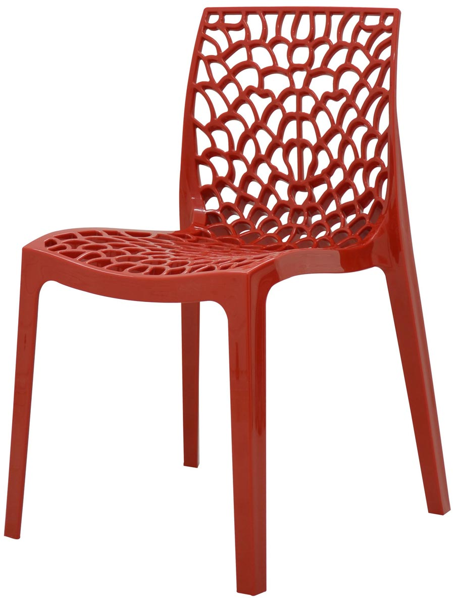 Cadeira Gruvyer em polipropileno sem bracos
