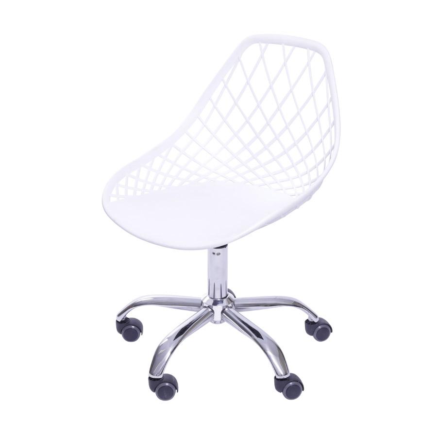 Cadeira Jenny em Polipropileno com Base Giratória - Várias Cores