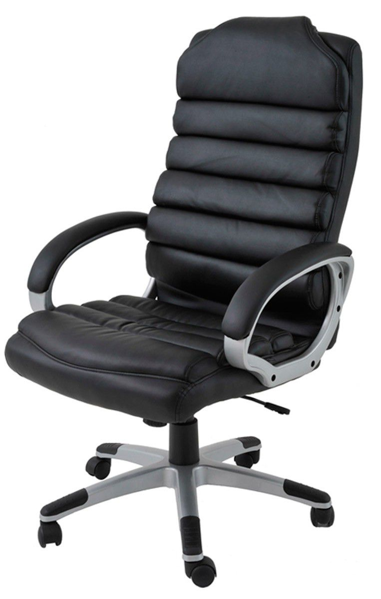 cadeira office andaluzia em couro ecologico