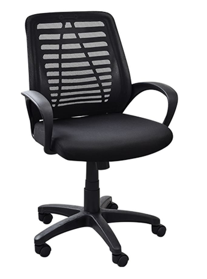 CADEIRA OFFICE LISTRAS BASE NYLON