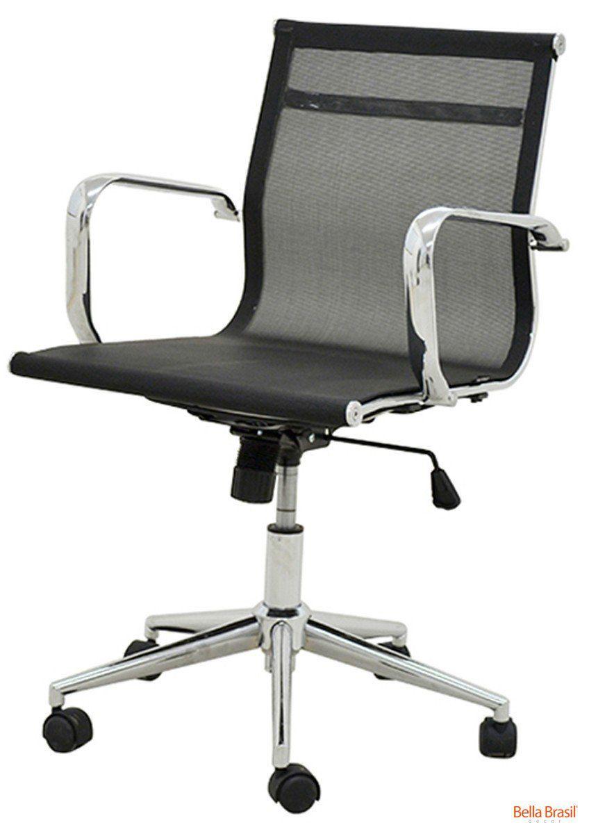 cadeira office sevilha baixa tela mesh