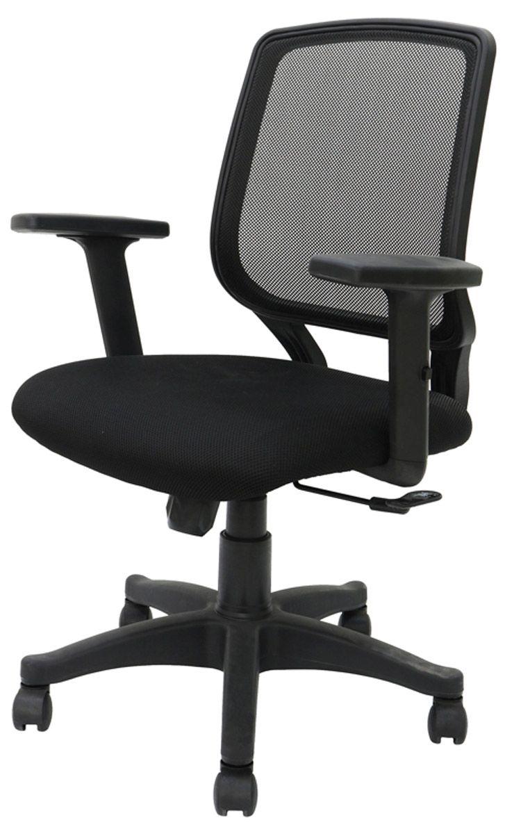 cadeira office Tabita com bracos ajustaveis