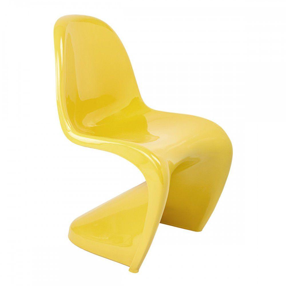 Cadeira Panton ABS Brilhante
