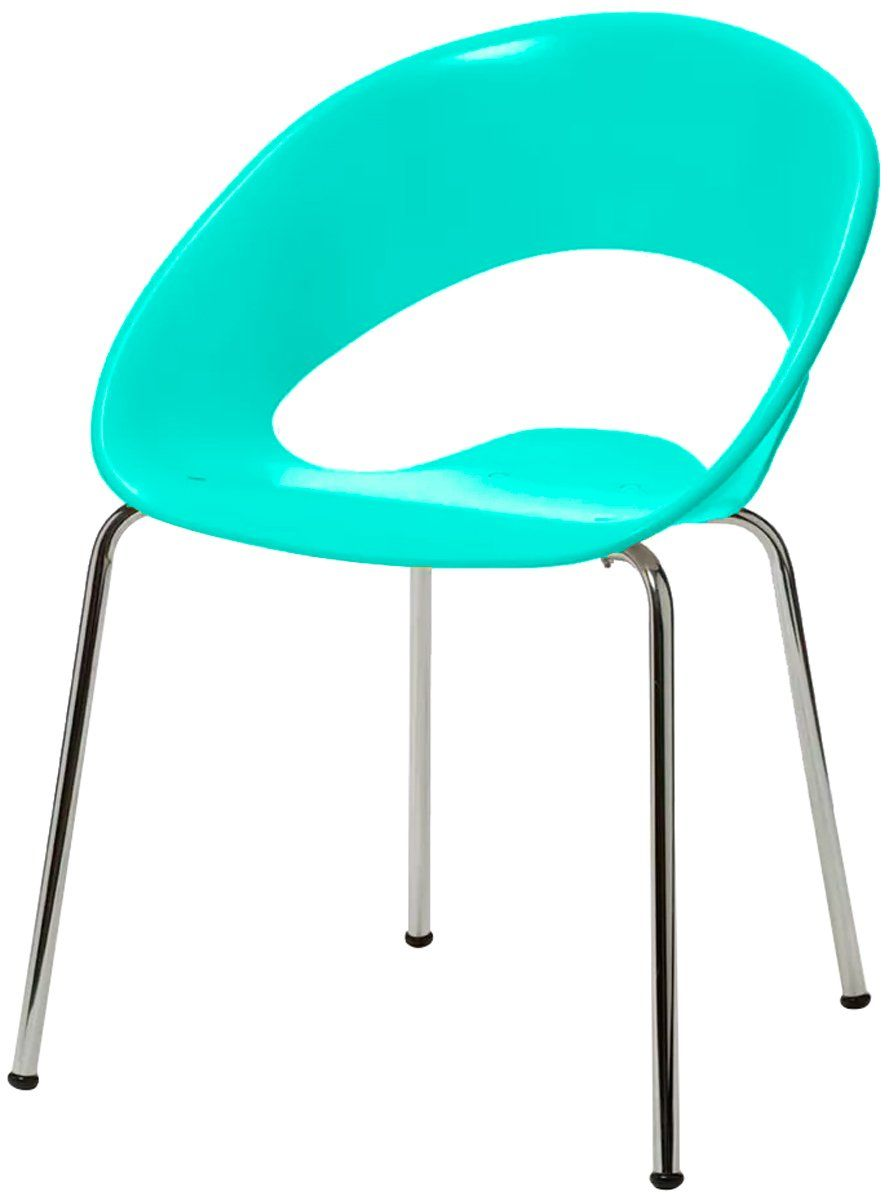 Cadeira Polipropileno Cromada Ferrette