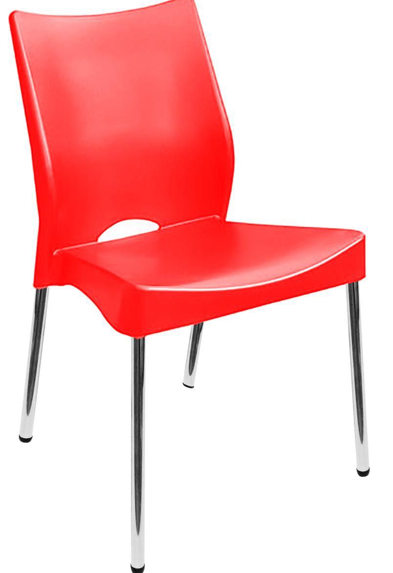 Cadeira Polipropileno Cromada Toulon