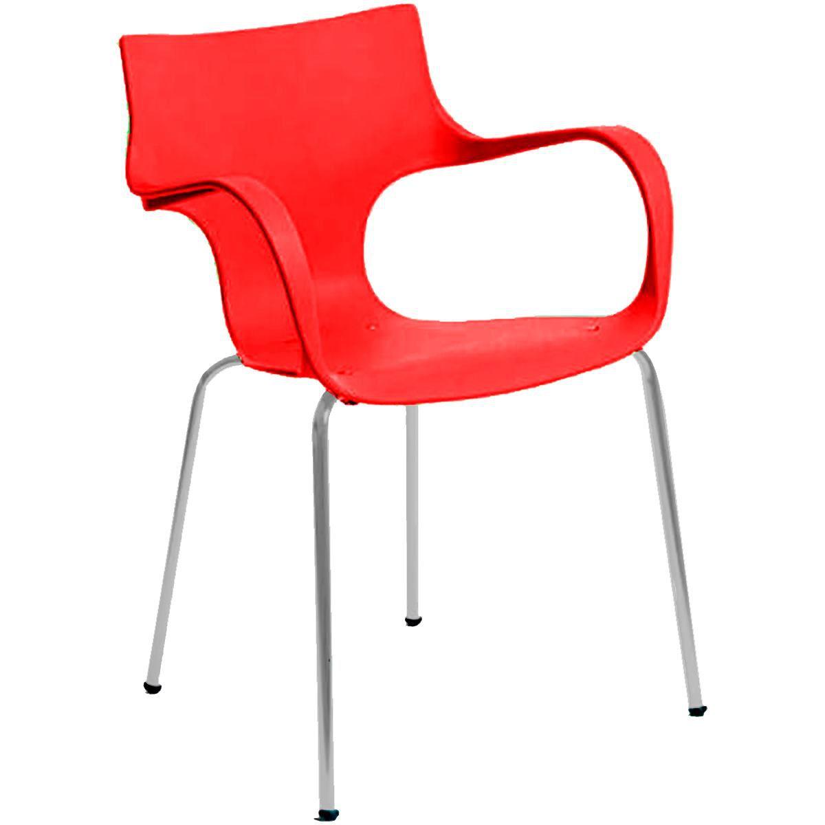 Cadeira Polipropileno Pintada Daniela