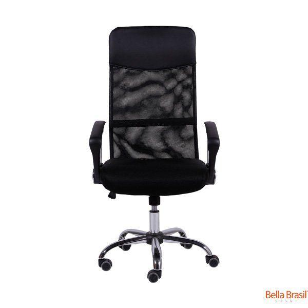 Cadeira Presidente Tela Mesh Lombar Movel