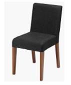 Cadeira Prosi em Madeira Revestida em Tecido