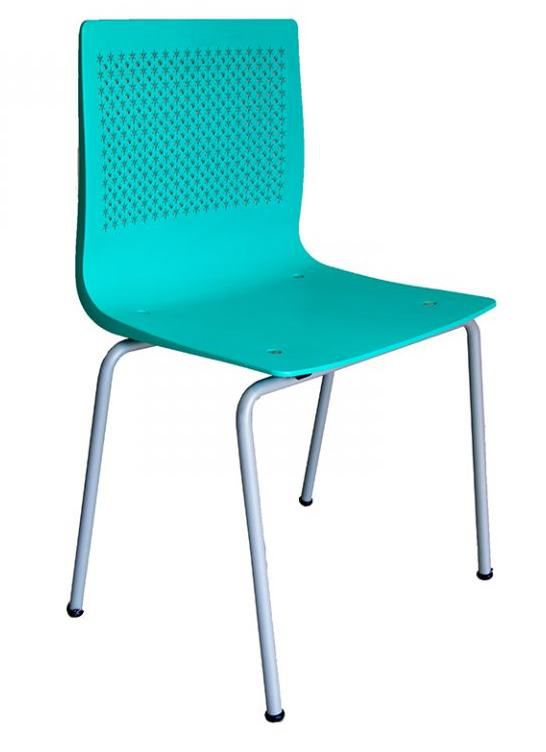 Cadeira Pine Base Cinza
