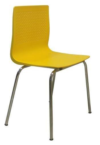 Cadeira Pine Base Cromada