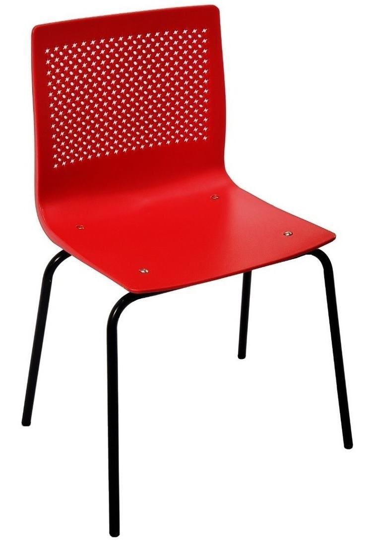 Cadeira Pine Base Preta
