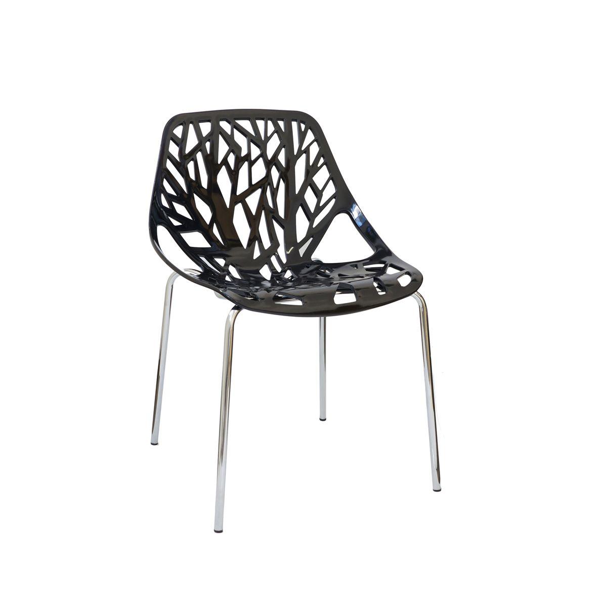 Cadeira Ramos Kiruna em Polipropileno com Base Cromada