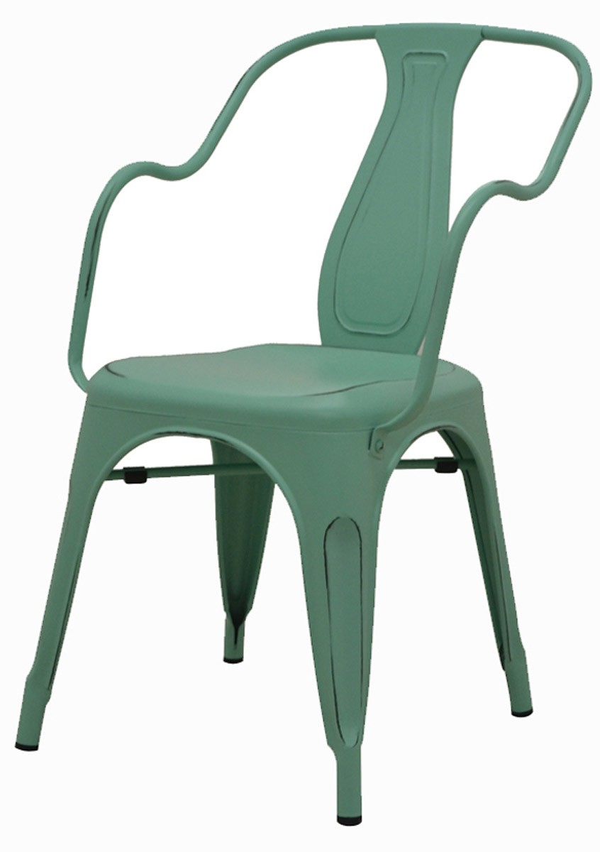 Cadeira Tolix Ariel Vintage com braço