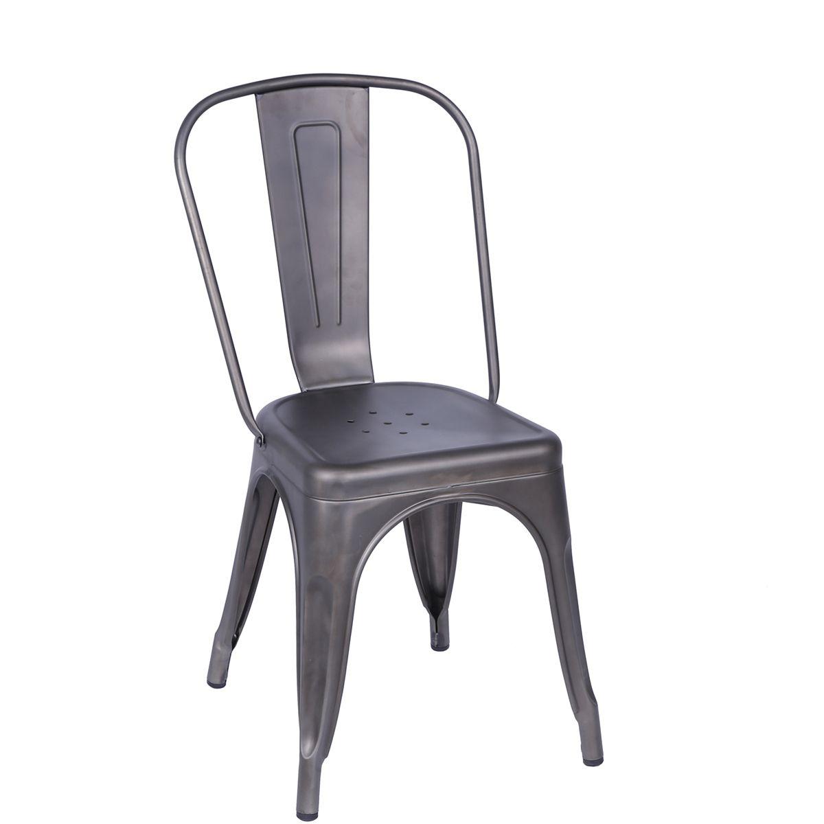 Cadeira Tolix Iron Bronze