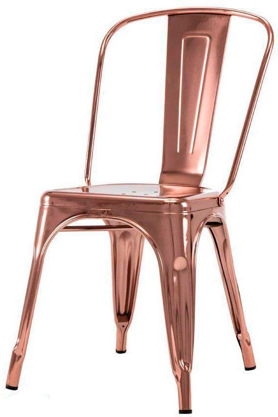 Cadeira Tolix Iron Espelhada