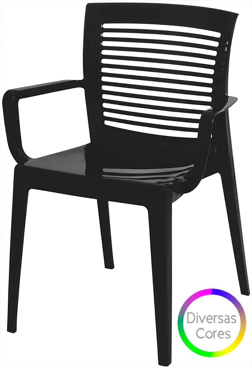 Cadeira Victoria Vazada com Braço