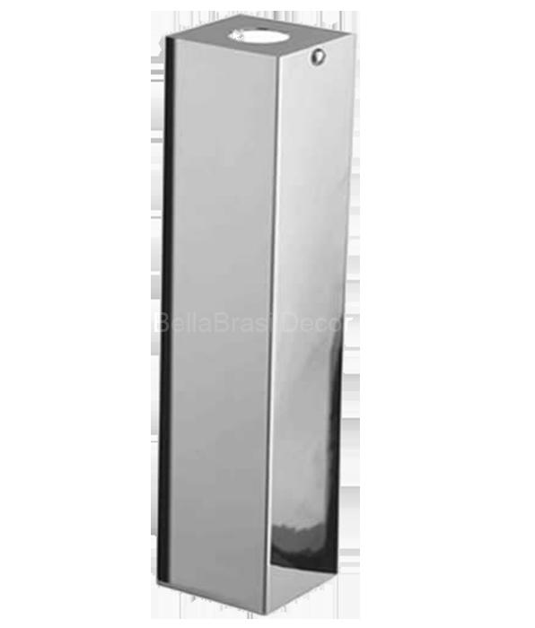 Capa De Sifao Quadrada Em Inox - 30cm