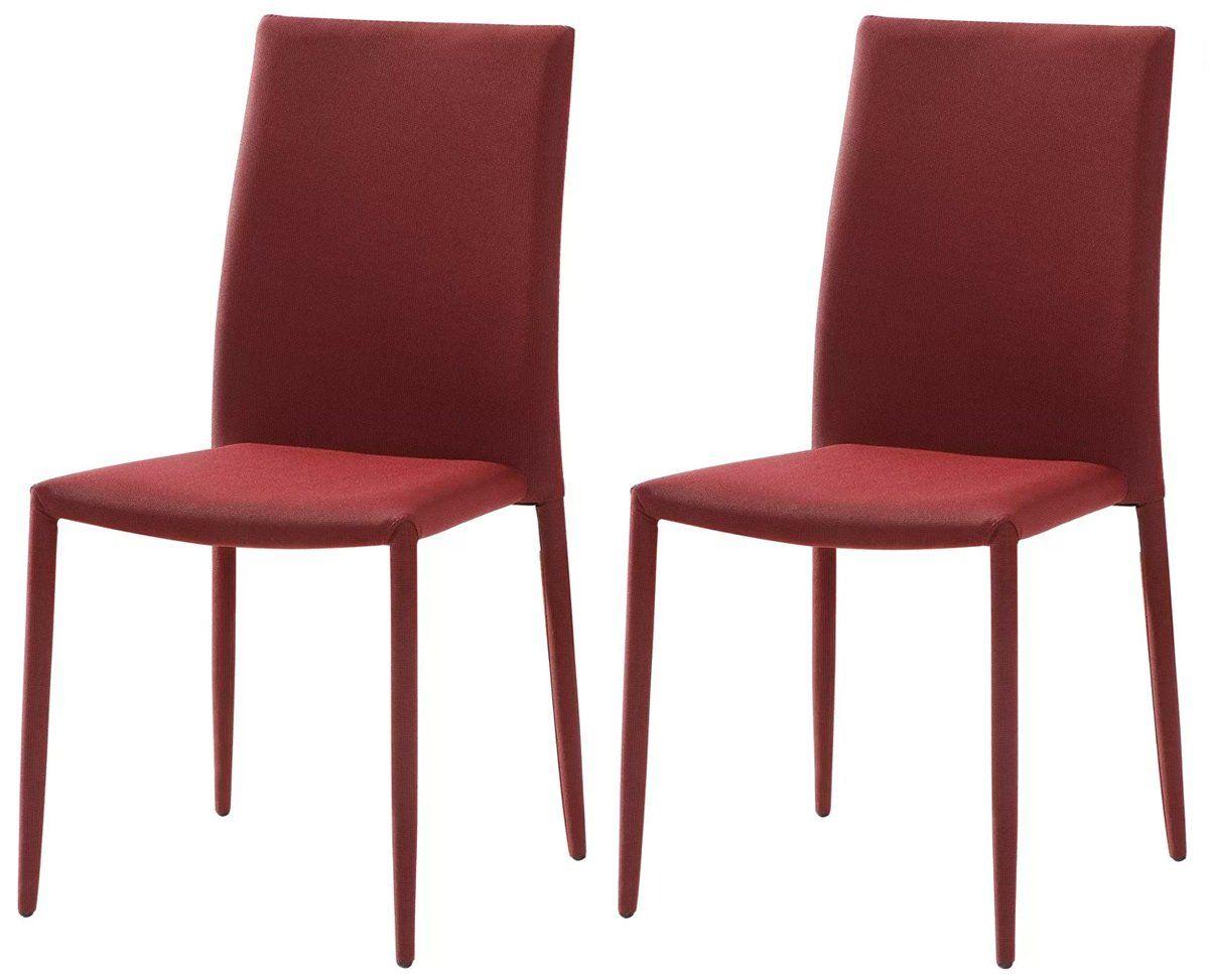 Kit 2 Cadeiras Amanda em tecido linho