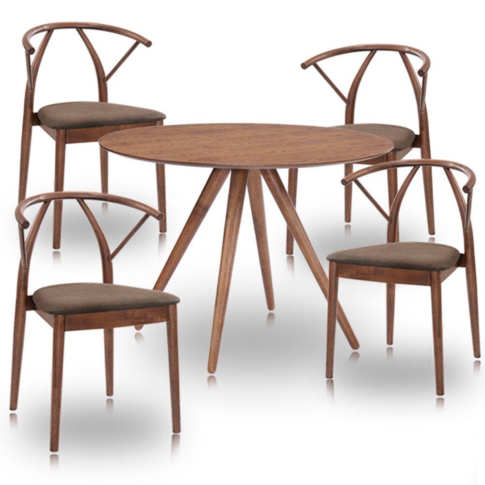 Kit Mesa Torino e Cadeiras Calabria