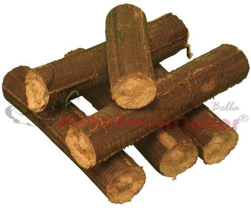 Lenha Briquet para Lareira / Forno - Pacote 25kg