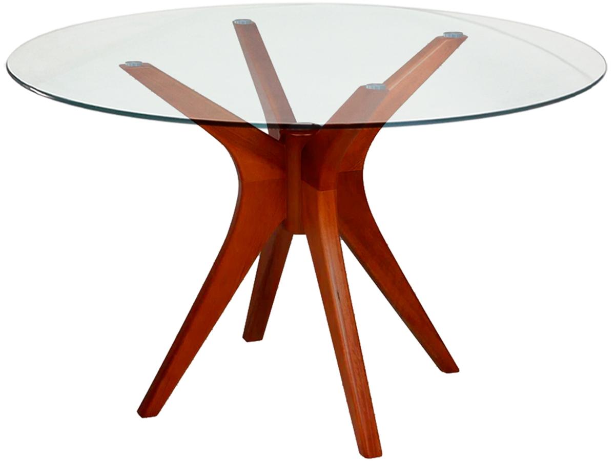 Mesa de Jantar Gataíba Carvalho com 4 Cadeiras Bertoia Preta Brilhante com Assento