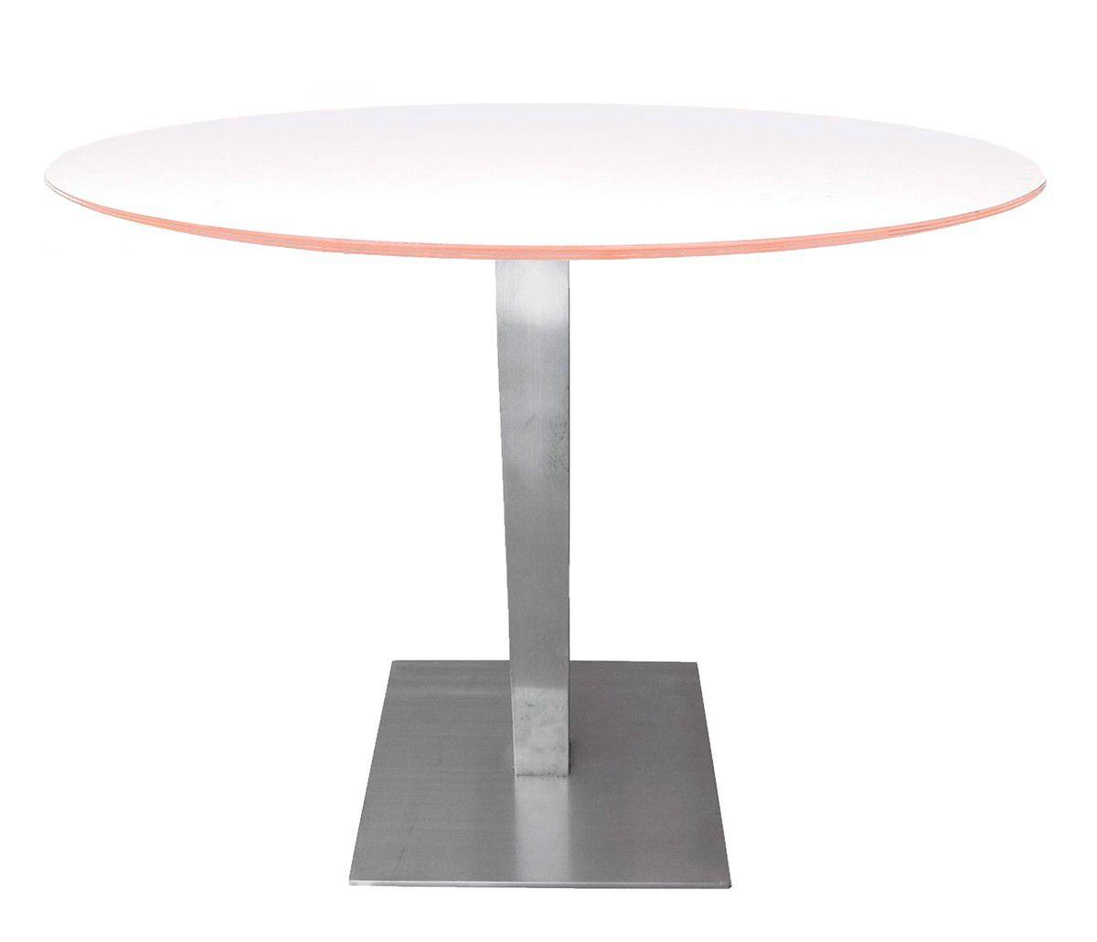 Mesa de jantar Quadro com tampo branco