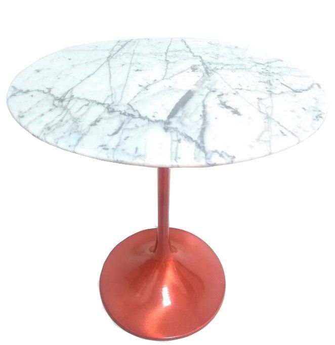 Mesa Saarinen Lateral 51 Alt Base Cobre Rose Gold