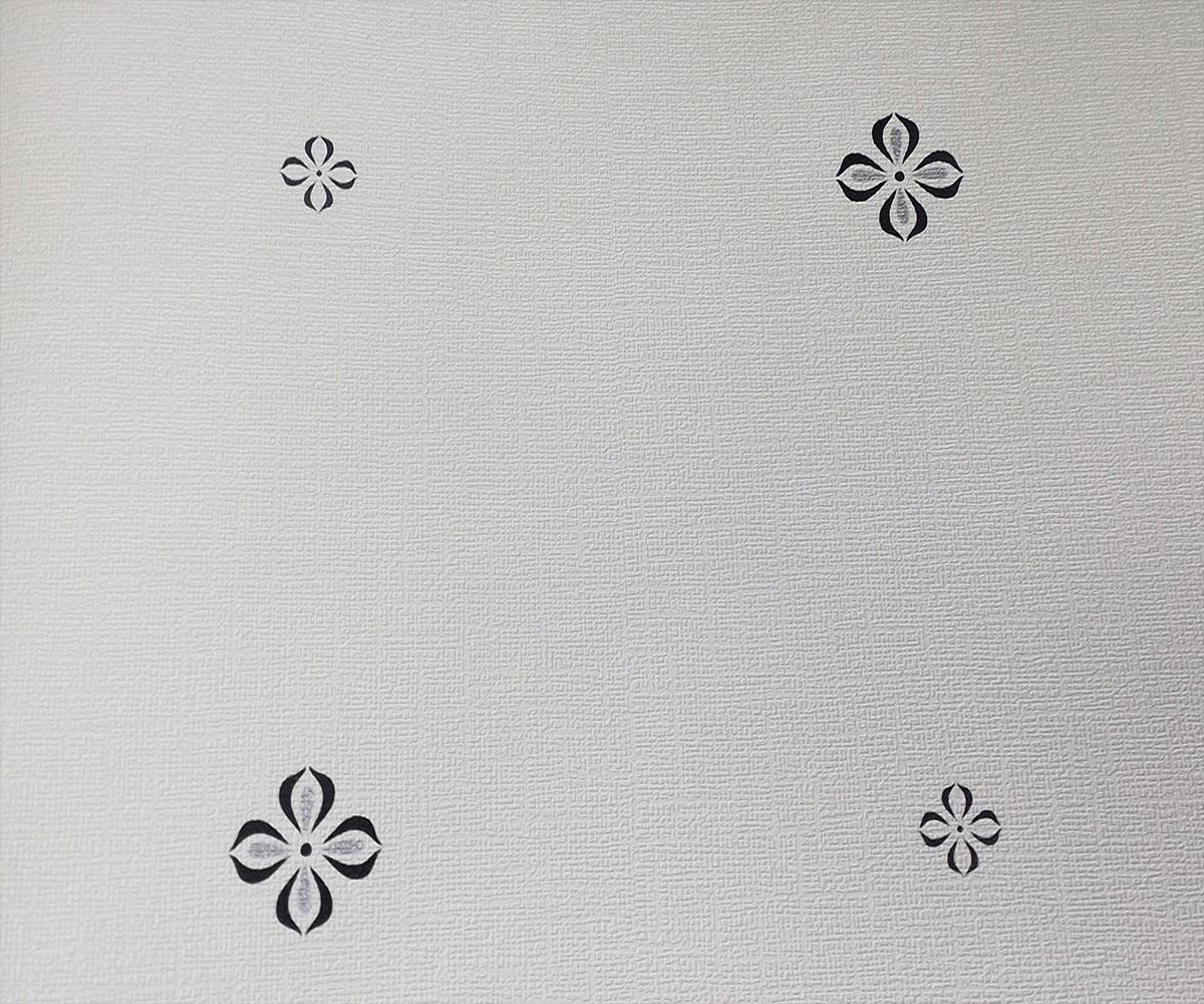 Papel de Parede Branco Cru SB6813602