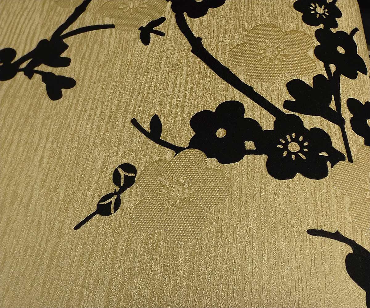 Papel de Parede Dourado MD15105037