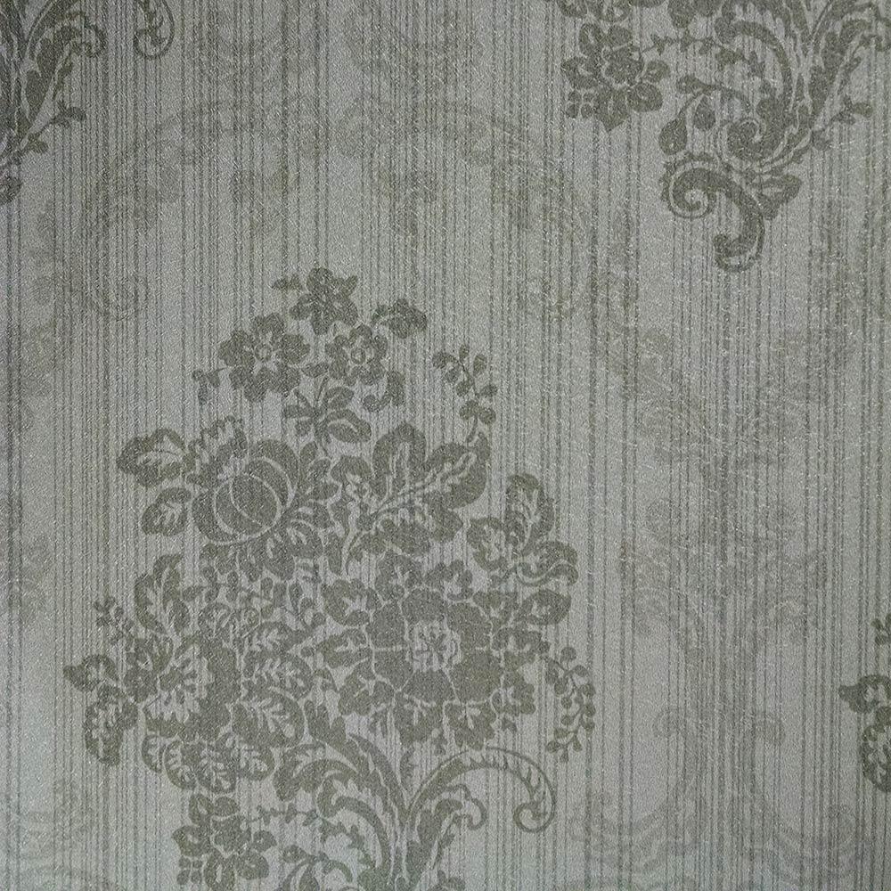 Papel de Parede Cinza Grafite FS121302